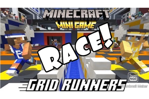 NEW SEVERS GRID RUNNER! RACE / minecraft mini games - YouTube
