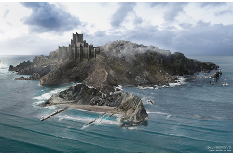 [EVERYTHING] Wide shot view of Dragonstone | Rebrn.com