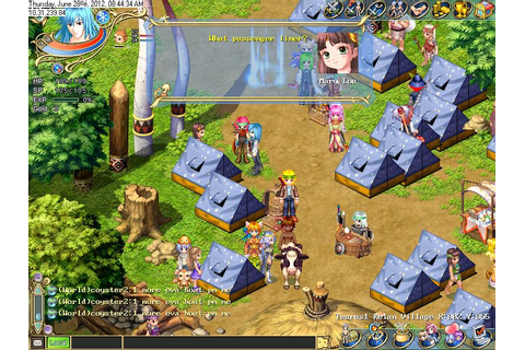 Wonderland Online Game Guide: Getting your tent