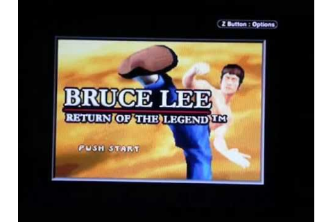 Bruce Lee: Return of the Legend gameplay - YouTube