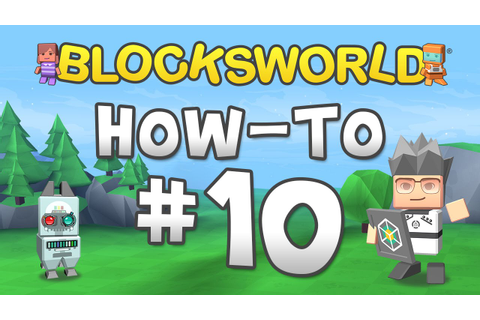 Blocksworld How-To: Use Game Blocks - YouTube