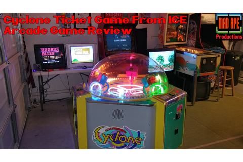 Cyclone Ticket Redemption Game From ICE Arcade Game Review ...