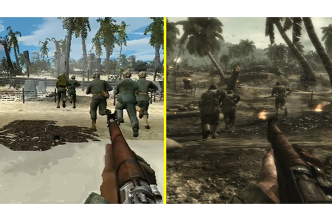 Call of Duty World at War PS2 vs PS3 Graphics Comparison ...