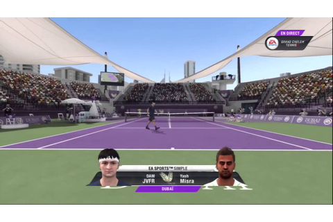 Grand Chelem Tennis 2 - Gameplay #4 - Quelques balles dans ...