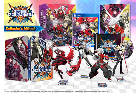 BlazBlue: Cross Tag Battle Reveals Collector's Edition and ...