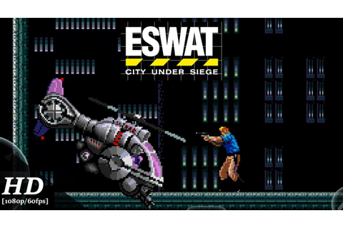 ESWAT: City Under Siege (SEGA Forever) Android Gameplay ...