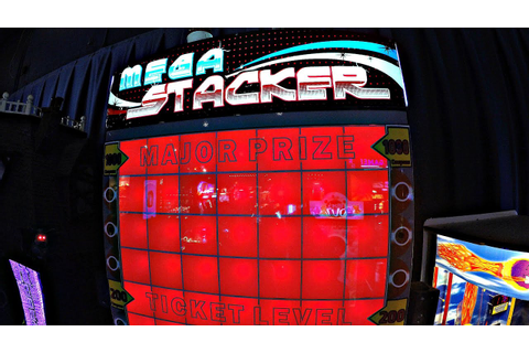 E.L. & Piper Play Mega Stacker Ticket Redemption Arcade ...