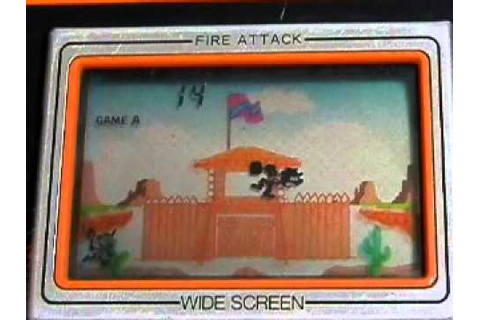 Nintendo Game & Watch Fire Attack - YouTube