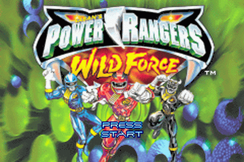 Play Power Rangers - Wild Force Nintendo Game Boy Advance ...