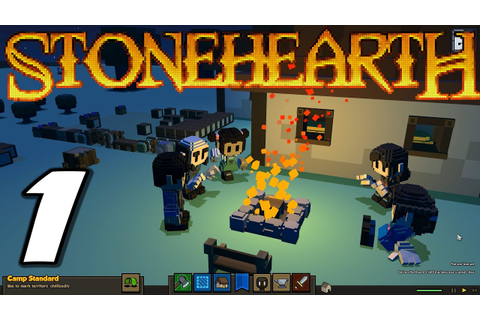 "Stonehearth Alpha 5 | E01 ""Getting Started!"" (Gameplay ..."