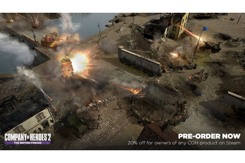 New Games: COMPANY OF HEROES 2 - THE BRITISH FORCES (PC ...