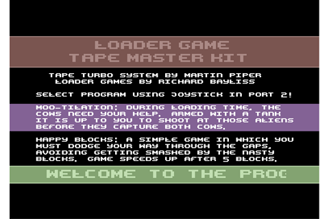 Invade-a-Load used in a NEW GAME! - Commodore 64 (C64) Forum