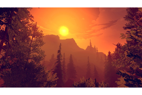 Firewatch, In game, Sunlight, Forest, Sunset Wallpapers HD ...