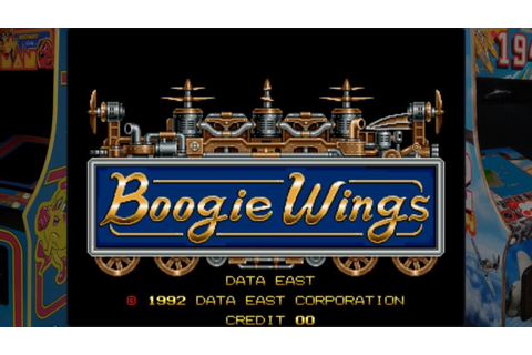 Boogie Wings - Data East (1992) / Arcade Game - YouTube