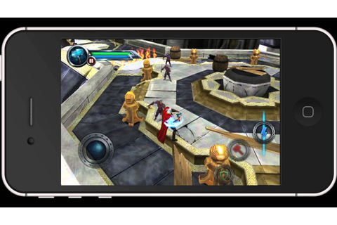 iPhone Game Series - THOR: Son of Asgard™ [HD] - YouTube