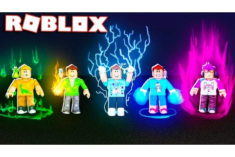 Roblox Adventures - BECOME A GOD WITH POWERS IN ROBLOX ...