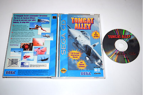 Tomcat Alley Sega CD Video Game Complete 10086044294 | eBay