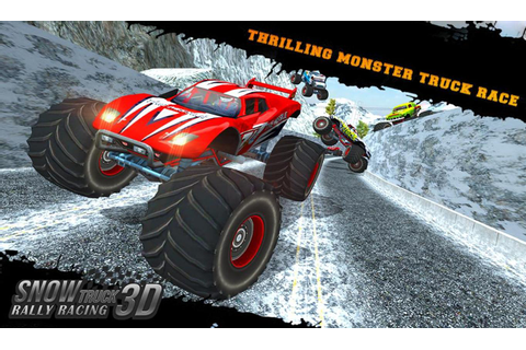 Snow Racing Monster Truck 17 APK Download - Free Racing ...