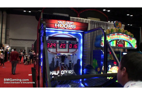 Half Court Hoops Basketball Arcade Game - BMIGaming.com ...
