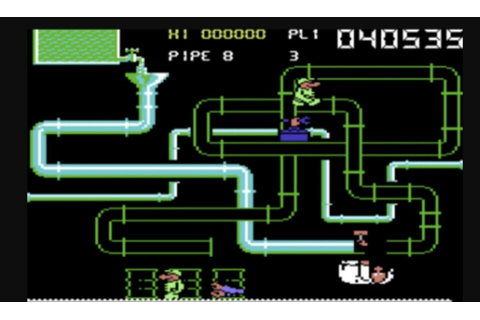 Super Pipeline II (Commodore 64) | She got game, Commodore ...