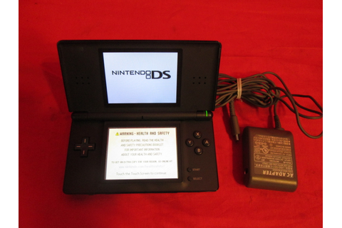 Nintendo DS Lite Onyx Black Video Game Systems