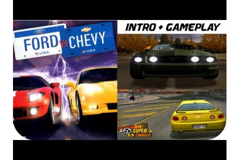 Ford vs. Chevy - Intro & Gameplay Moments PS2 HD - YouTube