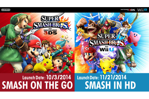 Super Smash Bros. Wii U/3DS Official Wallpaper by ...
