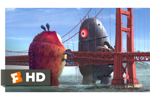 Monsters vs. Aliens (2009) - Golden Gate Grapple Scene (5 ...