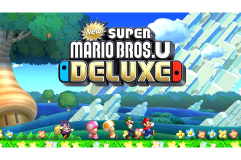 New Super Mario Bros. U Deluxe Worlds 1-9 Full Game (All ...
