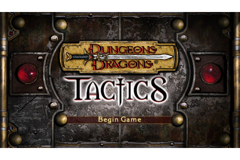 Dungeons & Dragons Tactics (USA) ISO