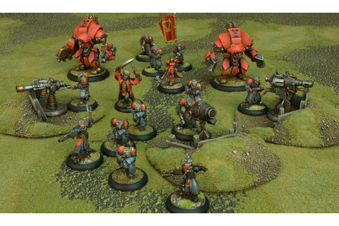 Miniatures Game Review: Warmachine & Hordes » Shut Up ...