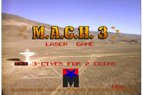 M.A.C.H. 3 arcade video game by Mylstar Electronics, Inc ...