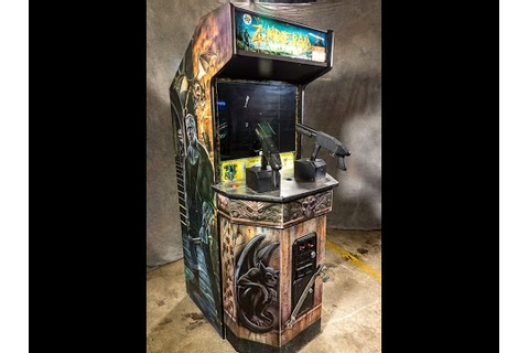 Lot 150: Zombie Raid Arcade Video Game - YouTube