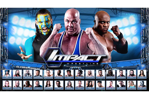 TNA IMPACT Wrestling 2K16 Demo - Roster Reveal (Notion ...