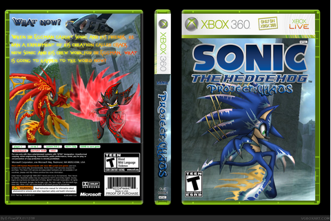 Sonic The Hedgehog Project: CHAOS Xbox 360 Box Art Cover ...