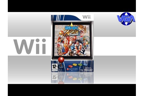 Snk Arcade Classics Vol 1 Gameplay Wii ( 2008 ) - YouTube