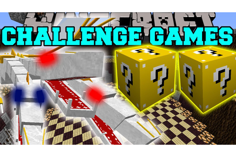 Minecraft: THE KING CHALLENGE GAMES - Lucky Block Mod ...