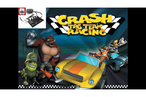 Crash: Tag Team Racing PS2 Game intro - YouTube