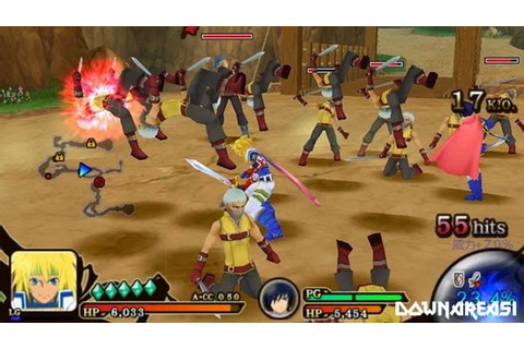 Tales of The Heroes Twin Brave PSP ISO | Free Download ...