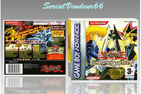 "BOITIER ""YU-GI-OH! LES CARTES SACREES"", GAME BOY ADVANCE ..."