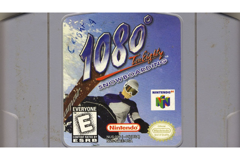 Classic Game Room - 1080 SNOWBOARDING review for N64 - YouTube