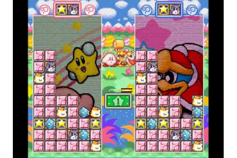 Puzzle Game Madness #6 - Kirby Super Star Stacker - YouTube
