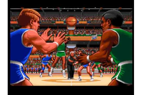 TV Sports Basketball - Amiga - YouTube