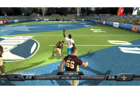 NFL Tour PS3 Carolina Panthers vs. New Orleans Saints ...