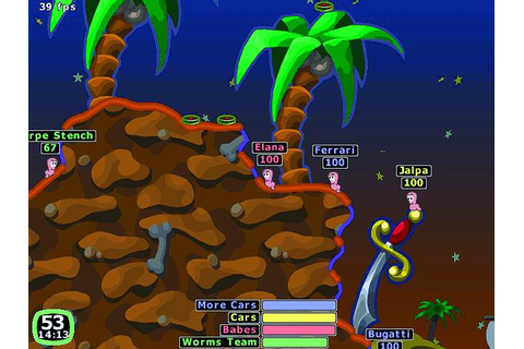 Worms 2 screenshot