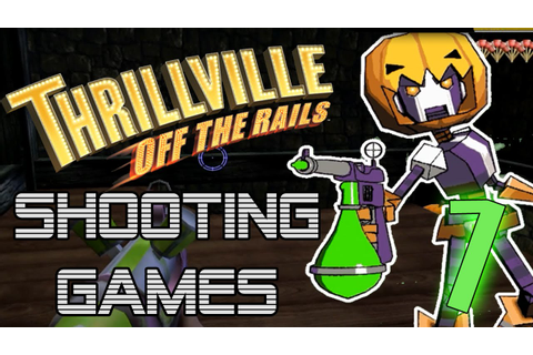 Thrillville: Off The Rails Shooting Minigames! (Part 1 ...