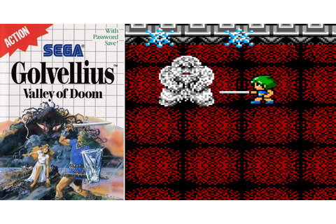 Play Golvellius: Valley of Doom on Master System