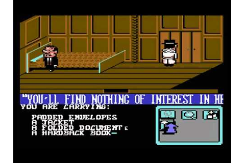 C64 Longplay - The Detective Game - YouTube