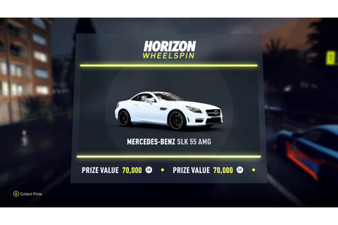 Forza Horizon 2 - Wheelspin (Slot Machine Game): Mercedes ...