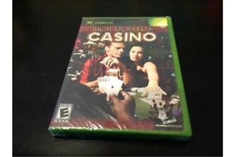 High Rollers Casino (Xbox, 2004) Brand New In Plastic Wrap ...